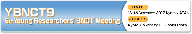 9th Young Researchers' BNCT Meeting (YBNCT9)